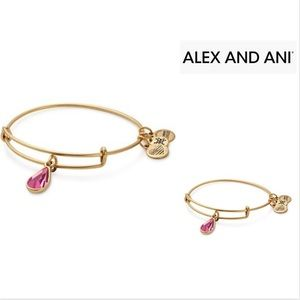 Birthstone Bangle w.Swarovski Crystal JA-
